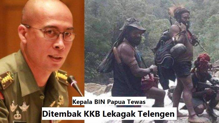Kepala BIN Papua Tewas Ditembak KKB Lekagak Telengen